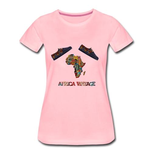 Africa Vntage Authentique - T-shirt Premium Femme