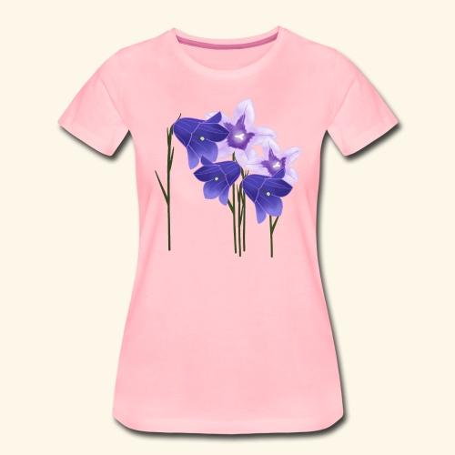 Glockenblumen, Blumen - Frauen Premium T-Shirt