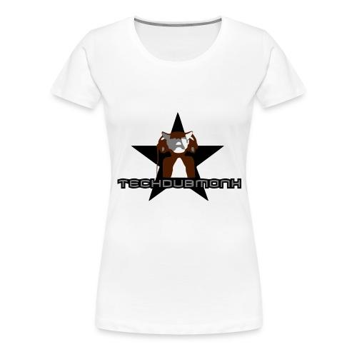 logo techdubmonk - Frauen Premium T-Shirt
