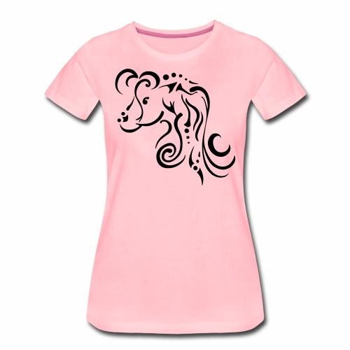 Mare, clean tribal design - Women's Premium T-Shirt