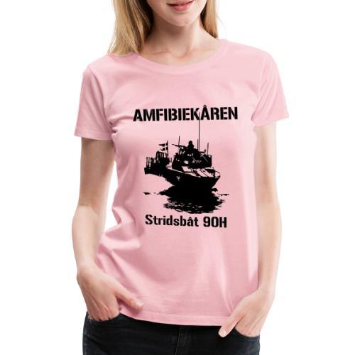 Amfibiekåren - Stridsbåt 90H - Premium-T-shirt dam