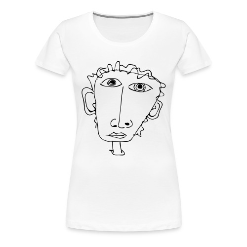 Telefonnotiz - Frauen Premium T-Shirt