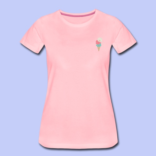 Cute Icecreams - Women's Premium T-Shirt