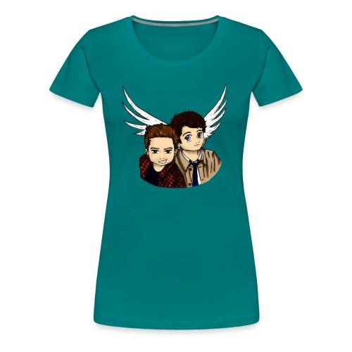 Destiel i farver - Dame premium T-shirt