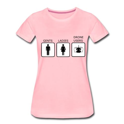 Drone Users - Women's Premium T-Shirt