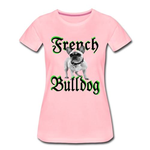 Bulldog Bulldogge Hundekopf Hundeliebhaber Hunde - Frauen Premium T-Shirt