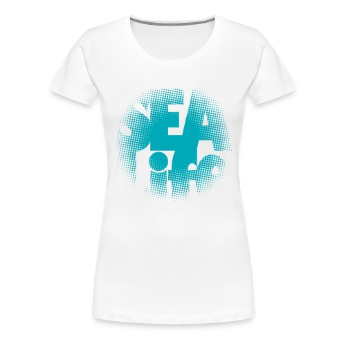Sealife surfing tees, clothes and gifts FP24R01A - Naisten premium t-paita