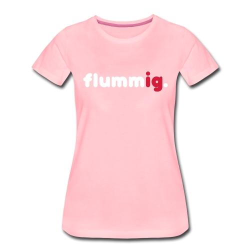 FLUMMIG. - Premium-T-shirt dam