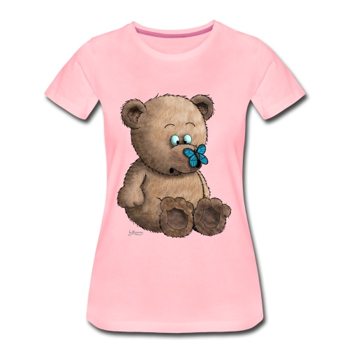 Teddybär - Frauen Premium T-Shirt