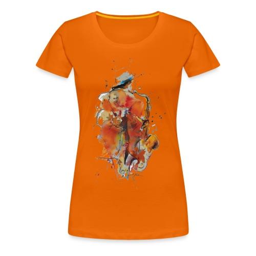 Jazz men - T-shirt Premium Femme