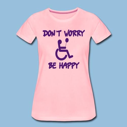dontworry - Vrouwen Premium T-shirt