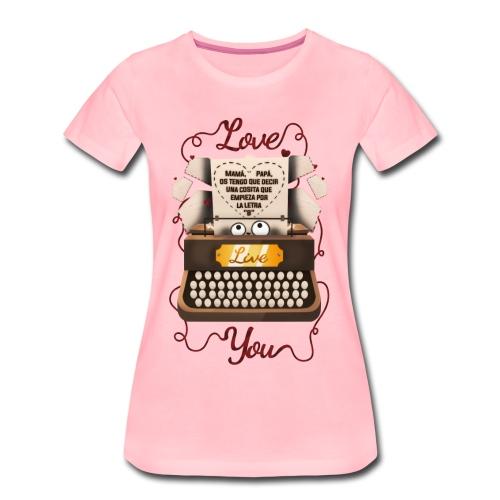 San Valentín - Camiseta premium mujer