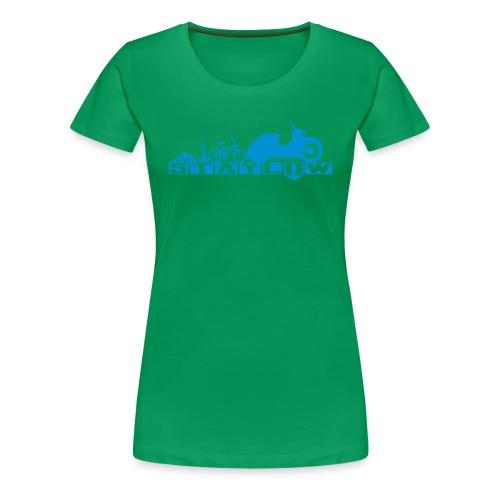 STAYLOW BMX - Frauen Premium T-Shirt