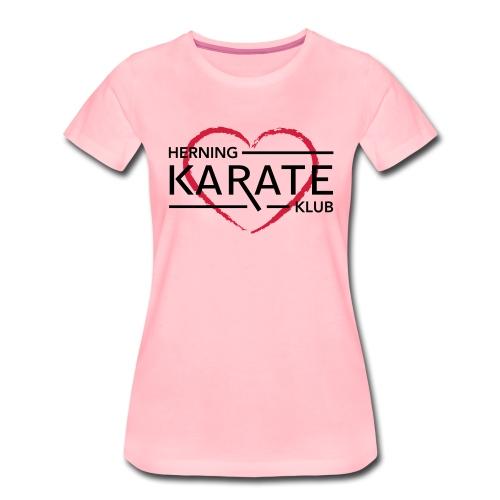HKK Hjerte - Dame premium T-shirt