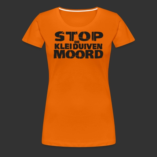kleiduivenmoord - Vrouwen Premium T-shirt