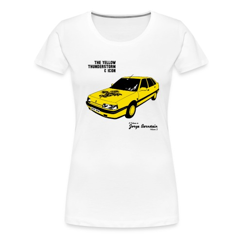 The Yellow Thunderstorm & Icon Enfant - T-shirt Premium Femme