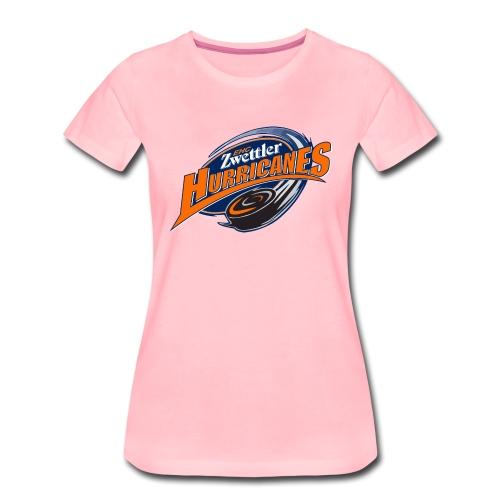 hurricanes logo - Frauen Premium T-Shirt