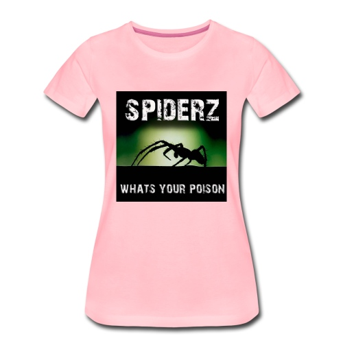 Spiderz main cover 1 jpg - Women's Premium T-Shirt