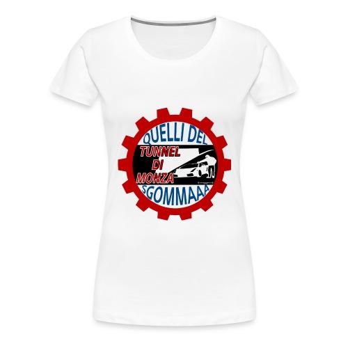 Sticker tunnel Monza2 png - Maglietta Premium da donna