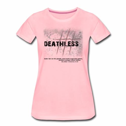Deathless 3 Kreuze - Frauen Premium T-Shirt
