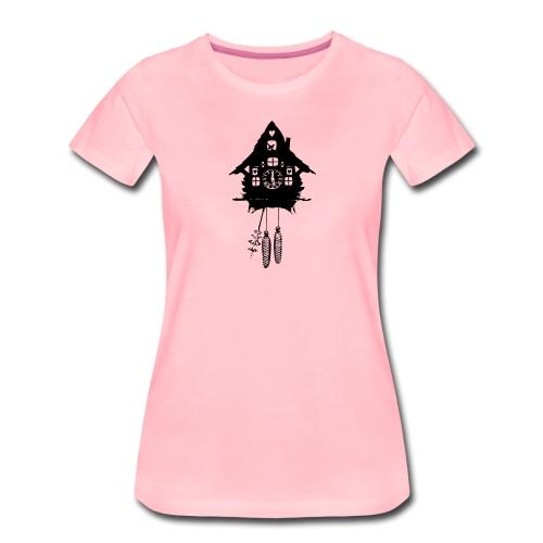 Kuckucksuhr - Frauen Premium T-Shirt