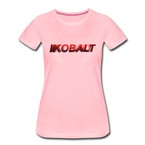 ikobat txt png - Women's Premium T-Shirt