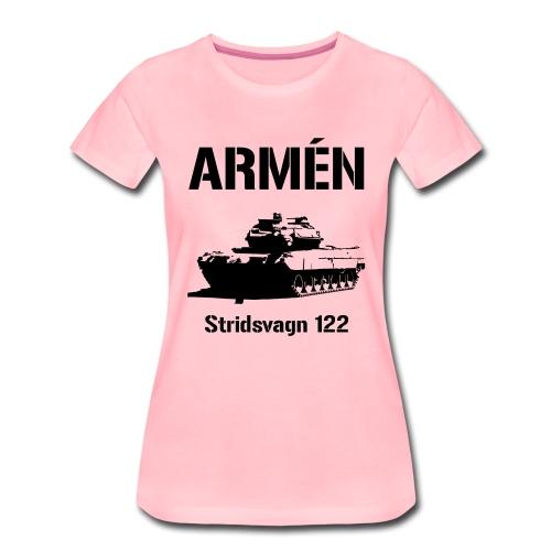ARMÉN - Stridsvagn 122 - Premium-T-shirt dam