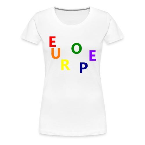 EUROPE #1 - Frauen Premium T-Shirt