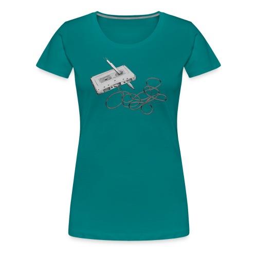 La cassette et son allié - T-shirt Premium Femme