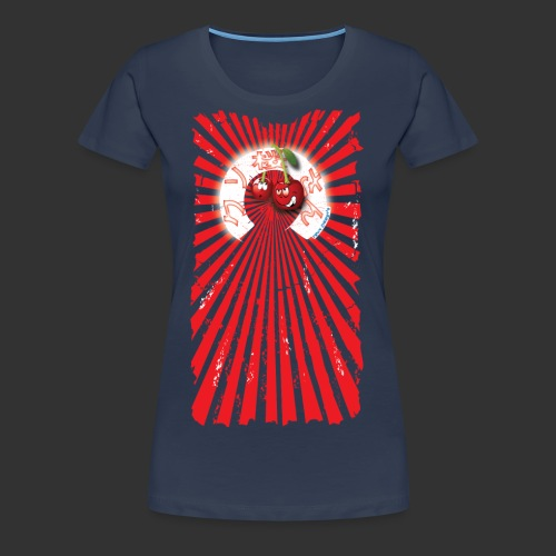 frkn cherry - Vrouwen Premium T-shirt