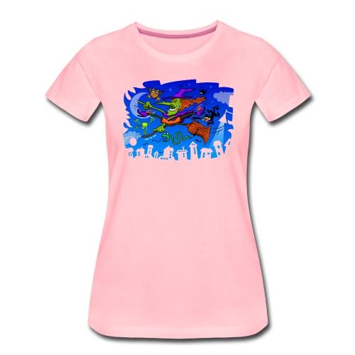 Crazy Witch - Women's Premium T-Shirt