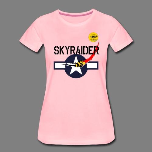 TDH19-PROFIL-COCARDE SKYRAIDER - T-shirt Premium Femme
