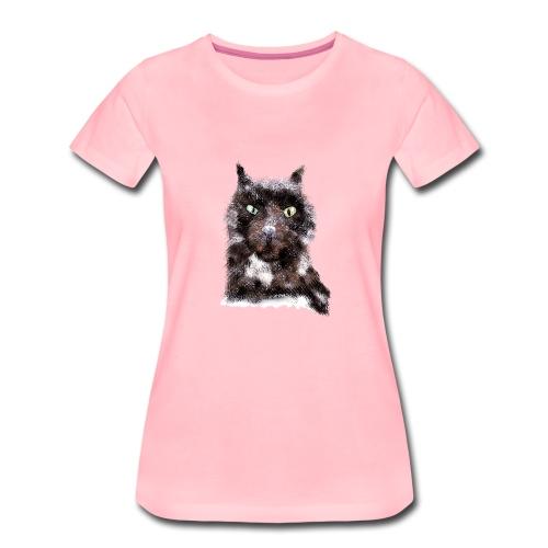 Cat - IF Sabrina Imstepf Design - Frauen Premium T-Shirt