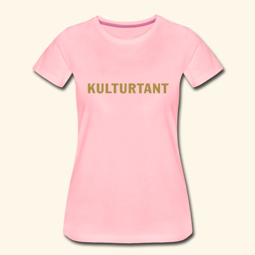 Kulturtant - Premium-T-shirt dam