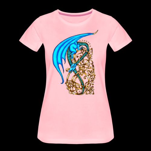 Celtic Dragon - Women's Premium T-Shirt