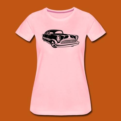 Lowrider / Oldtimer / Muscle Car 03_schwarz - Frauen Premium T-Shirt