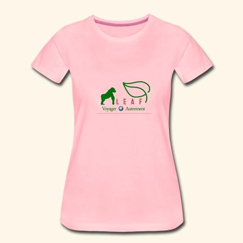 LEAF - T-shirt Premium Femme