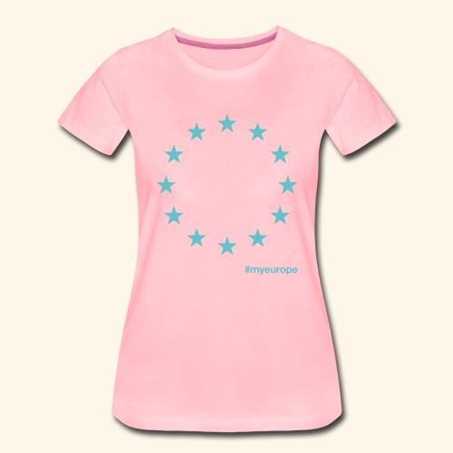 #myeurope mint - Frauen Premium T-Shirt