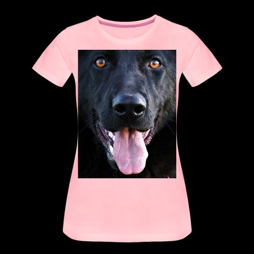 black-german-shepherd-lar - Women's Premium T-Shirt