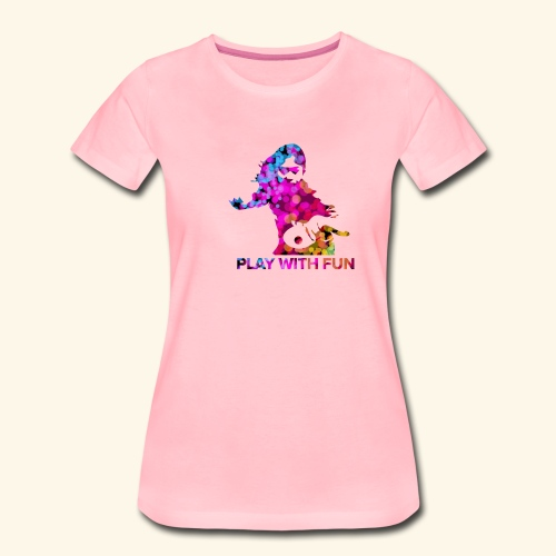 Play with Fun and Win the Championship - Frauen Premium T-Shirt