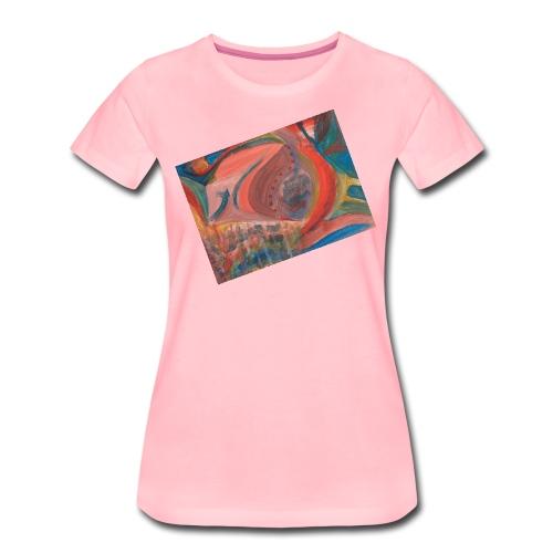 Iris, die Farbenfrohe - Frauen Premium T-Shirt
