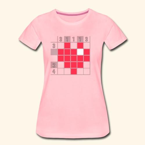 Heart Tshirt Women - Women's Premium T-Shirt