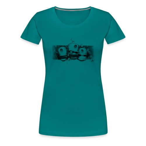 Dont ! Moe Frisco Ver01 - Dame premium T-shirt