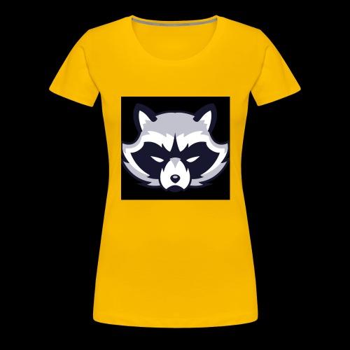 WaschbeerKopf Logo :) - Frauen Premium T-Shirt