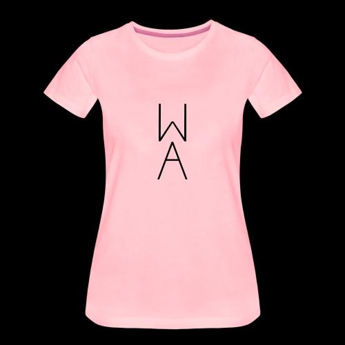 Minimal/Analog logo - Maglietta Premium da donna