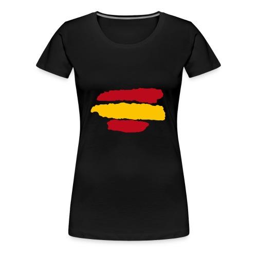 Bandera España - Camiseta premium mujer