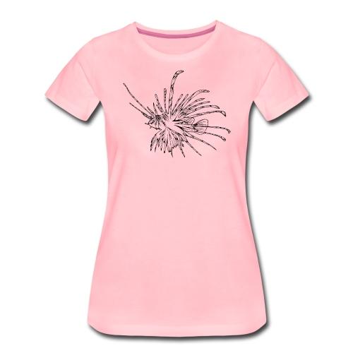 Tribal Tattoo Tauchen Taucher Lionfish Dive - Frauen Premium T-Shirt