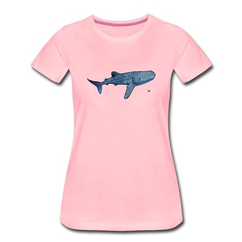 Walhai - Frauen Premium T-Shirt