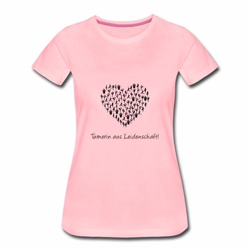 Turnerin aus Leidenschaft - Frauen Premium T-Shirt