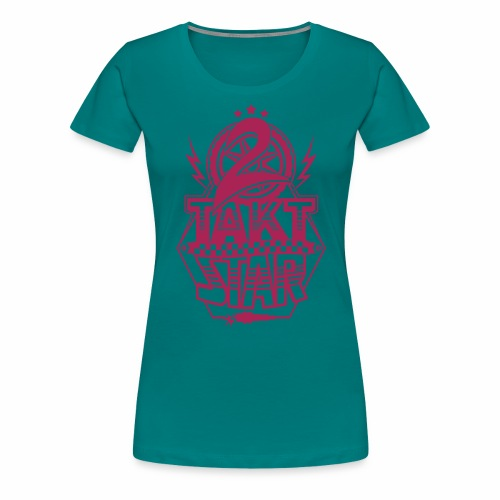 2-Takt-Star / Zweitakt-Star - Women's Premium T-Shirt
